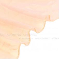 Шифоновый однотонный шарф   (персиковый)