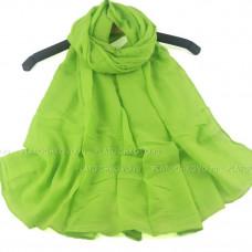 Шарф из мягкого полотна (зеленый)