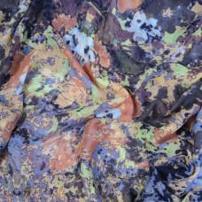 Снуд с красочным принтом (синий)
