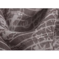 Шарф  с украшением из паеток (серый)