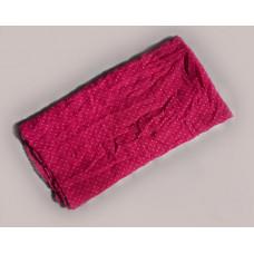 Шарф в  горошек с мятым эффектом (розовый)