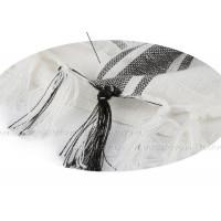 Платок хлопковый сирийский (арафатка),  (белый)