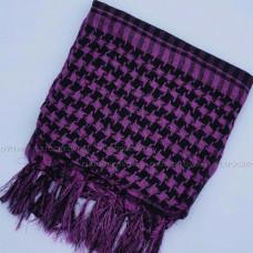Платок сирийский (арафатка) (фиолетовый)